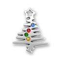 Squiggle Christmas Tree w/Stones