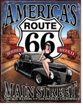 RT 66 - America's Main Street Tin Signs