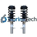 Front Air Spring to Coil Spring Suspension Conversion