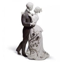 Lladro Lovers' Waltz (Re-Deco)