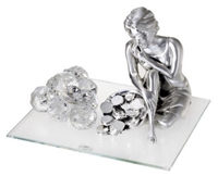 Italian 925 Argento Silver Goodness of Fortune Figurine