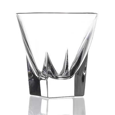RCR Fusion Collection Crystal Shot glass set of 6