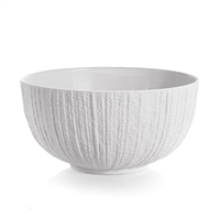 GOTHAM WHITE SERVING BOWL