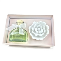 Ceramic Gypsum Flower Set Diffuser- Beautiful