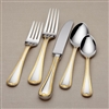 Vintage Jewel® Gold 5-piece Stainless Flatware Place Setting by Lenox