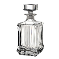 RCR Adagio Collection Crystal Square Decanter