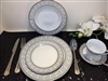 49 PCS DINNER SET, GREY Greek Design