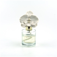 Ceramic Gypsum Flower Set Diffuser-White Orchid