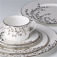 kate spade new york Gardner St Platinum 5-pc Place Setting by Lenox