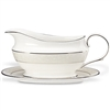 Opal Innocence Sauce Boat & Stand by Lenox