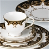 Marchesa Couture Baroque Night 5-piece Place Setting by Lenox