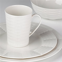 Entertain 365 Sculpture Woven 4-piece Place Setting by Lenox
