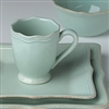 French Perle Bead Ice Blue Square 4-piece Place Setting by Lenox