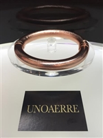 UNOAERRE by UNOAERRE18kt Pink Gold Plated Bangle Bracelet