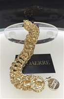 Fashion jewelry by UNOAERRE 18kt Yellow18kt yellow gold Diamond Cut Bracelet