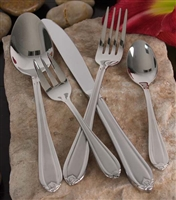Dress your table to impress with this elegant 84 piece service for 12 flatware set