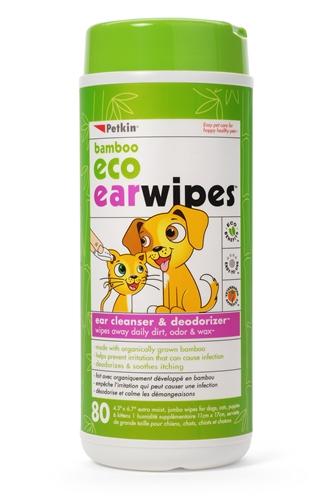 Petkin Bamboo Eco Earwipes