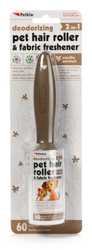 Pet Hair Roller & Fabric Freshener - 60ct Vanilla