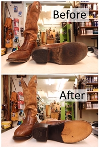 Boot Before & After