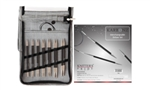 Karbonz Deluxe Interchangeable Knitting Needle Set