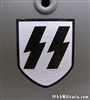 Waffen SS 2nd Model Dry Transfer Runic Decal