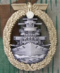 German WWII Kriegsmarine High Seas Fleet Badge