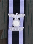 1939 Bar With WWI Iron Cross 2nd Class Ribbon