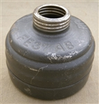 German WWII FE37 Gasmask Filter