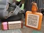 Original German WWII Decontamination Gas Attack Container Set