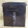 Original German WWII Signals (Nachrichtentasche) Leather Tool Pouch