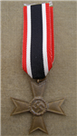 Original German WWII War Merit Cross Second Class Without Swords (Kriegsverdienstkreuz 2. Klasse ohne Schwerter)