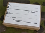 Reproduction German WWII SS Stamped Feldpost (Field Post) Box