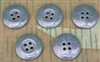 Reproduction Gray/Blue Urea Buttons (Set of 5)