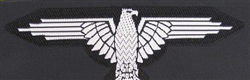 Waffen SS Enlisted Man's/NCO BeVo Sleeve Eagle