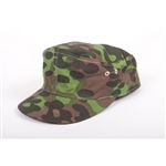 Waffen SS Pre/Early 5/6 Overprint/Planetree Camouflage M-42 Cap