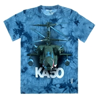 "3D T-shirt ""KA-50"",100% cotton Slim Fit, XXL"
