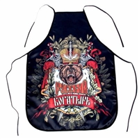 "Kitchen Apron ""Russian Warrior"""