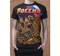 "T-shirt ""Russian Eagle"",100% cotton Slim Fit"
