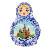 "Magnet ""Moscow"" 7.5 cm"