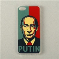 "Clear Case for iPhone 5/5S/SE  ""PUTIN"""