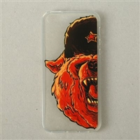 "Clear Case for iPhone 5/5S/SE  ""Bear"""