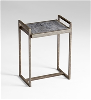 Padgett Table - Iron or Black Wood Table with a Limed Finish for Spas & Salons