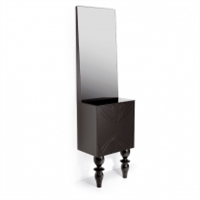 Mirrored Styling Station & Storage for Salon & Spa | Style 84