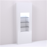 32 inch Retail Shelving & Wall Display Niche for Salon & Spa Design