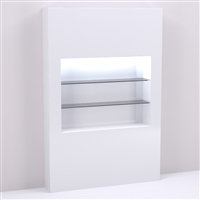 60 inch Retail Shelving & Wall Display Niche for Salon & Spa Design