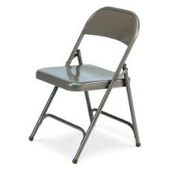 Virco 162 - Premium Steel Folding Chair with 1 Rear Leg Brace  (Virco 162)