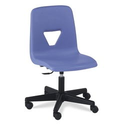 Virco 2260ELGC - 2000 Series Mobile Task Chair- Adjustable Gas Cylinder