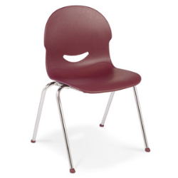 "Virco 264513 - IQ Series Stylish 4-Legged Ergonomic Chair, Wide Seat - 13"" Seat Height  (Virco 264513)"
