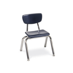 "Virco 3012 - 3000 Series 4-Legged Hard Plastic Chair - 12"" Seat Height  (Virco 3012)"