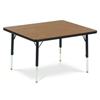 "Virco 483036LO- Rectangular 30"" x 36"" Activity Table, 1 1/8 inch Thick Laminate Top, Preschool Height Adjustable Legs  (Virco 483036LO)"